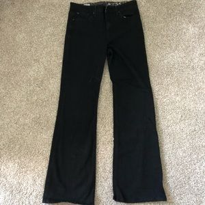 Joe's Jeans Charlie Flare Black Jeans